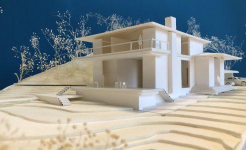 別荘住宅模型